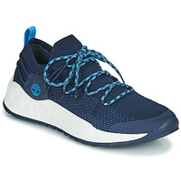 Shoes Men Low top trainers Timberland SOLAR WAVE LOW KNIT Blue