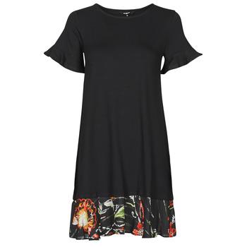 Clothing Women Short Dresses Desigual KALI Black