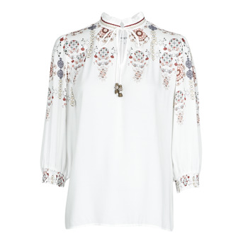 Clothing Women Tops / Blouses Desigual INDIRA White