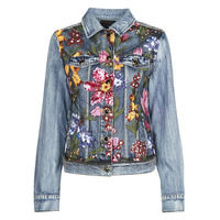 Clothing Women Denim jackets Desigual BALT Blue