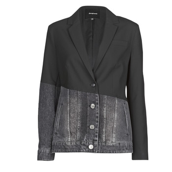 Clothing Women Jackets / Blazers Desigual KEREM Black