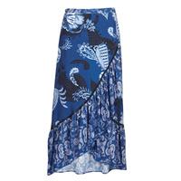 Clothing Women Skirts Desigual NEREA Blue