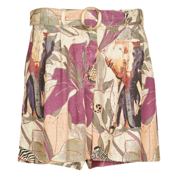 Clothing Women Shorts / Bermudas Desigual ETNICAN Multicolour