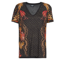 Clothing Women Short-sleeved t-shirts Desigual PRAGA Black
