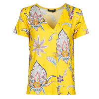 Clothing Women Short-sleeved t-shirts Desigual LEMARK Yellow