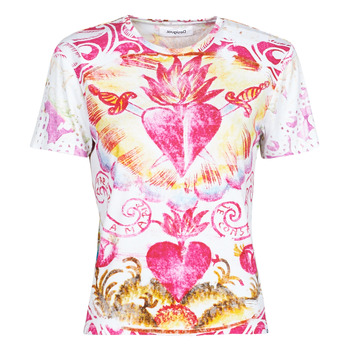 Clothing Women Short-sleeved t-shirts Desigual TATTOO Multicolour