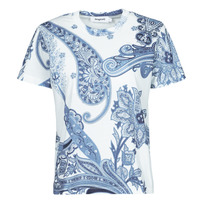 Clothing Women Short-sleeved t-shirts Desigual POPASLEY Blue