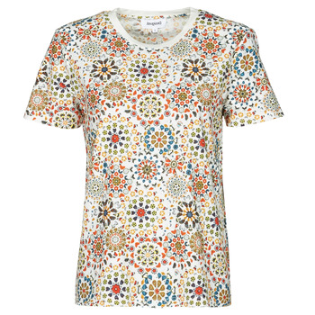 Clothing Women Short-sleeved t-shirts Desigual LYON White