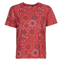 Clothing Women Short-sleeved t-shirts Desigual LYON Red