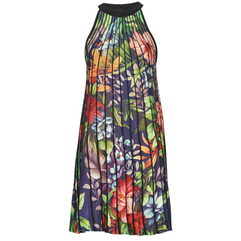 Clothing Women Long Dresses Desigual BRASIL Multicolour
