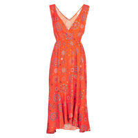Clothing Women Long Dresses Desigual SANTORINI Red