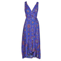 Clothing Women Long Dresses Desigual SANTORINI Marine