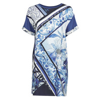Clothing Women Short Dresses Desigual SOLIMAR Blue