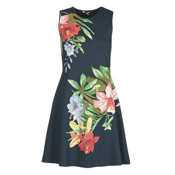 Clothing Women Short Dresses Desigual KILKENY Marine