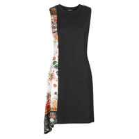 Clothing Women Short Dresses Desigual THAIYU Black