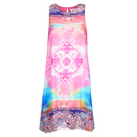 Clothing Women Short Dresses Desigual NANA Multicolour