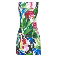 Clothing Women Short Dresses Desigual HONOLULU Multicolour
