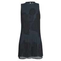 Clothing Women Short Dresses Desigual TORONTO Black