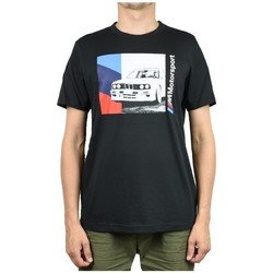 Clothing Men Short-sleeved t-shirts Puma Bmw Motorsport Graphic Tee Black