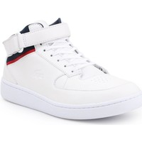 Shoes Men Hi top trainers Lacoste Turbo White
