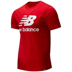 Clothing Men Short-sleeved t-shirts New Balance MT01575REP Red