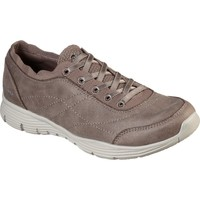 Shoes Women Low top trainers Skechers 158175-DKTP-03 Seager Scholarly Dark Taupe