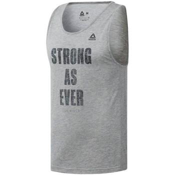 Clothing Men Tops / Sleeveless T-shirts Reebok Sport Les Mills Graphic Grey