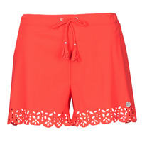 Clothing Women Shorts / Bermudas Banana Moon MEOW Red