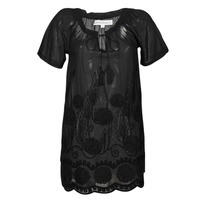 Clothing Women Short Dresses Banana Moon JOAN Black