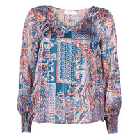 Clothing Women Tops / Blouses Cream SHEENA BLOUSE Blue