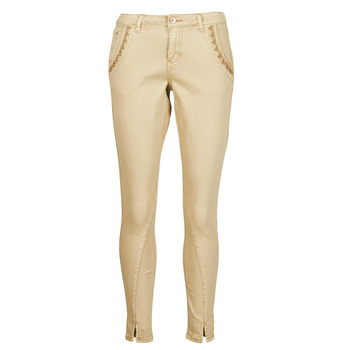 Clothing Women 5-pocket trousers Cream HOLLY TWILL PANT Beige