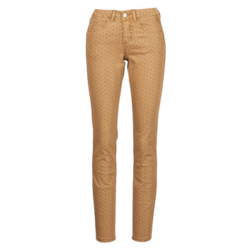 Clothing Women 5-pocket trousers Cream LOTTE PRINTED Beige