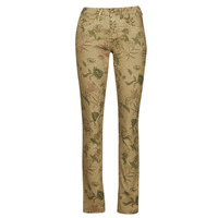 Clothing Women 5-pocket trousers Cream LOTTE PRINTED Multicoloured