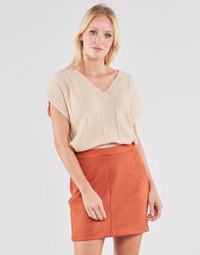 Clothing Women Tops / Blouses Cream MAHIMA SLEEVELESS Beige
