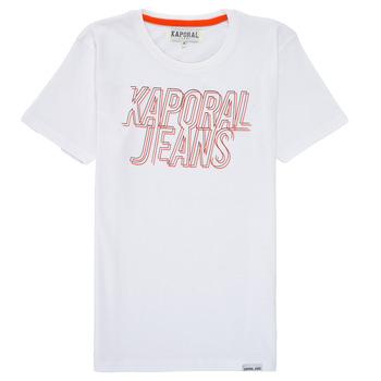 Clothing Boy Short-sleeved t-shirts Kaporal MAIL White