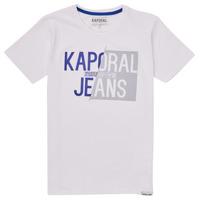 Clothing Boy Short-sleeved t-shirts Kaporal MAYO White