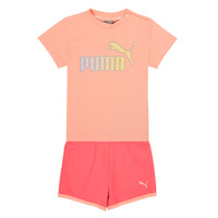 Clothing Girl Sets & Outfits Puma BB SET ABRI Pink