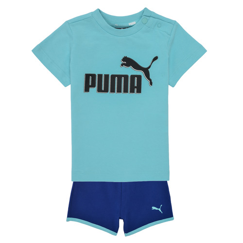Clothing Boy Sets & Outfits Puma BB SET ANGEL Blue