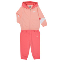 Clothing Girl Sets & Outfits Puma BB MINICATS REBEL Pink / Grey