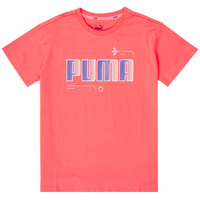 Clothing Girl Short-sleeved t-shirts Puma ALPHA TEE Pink