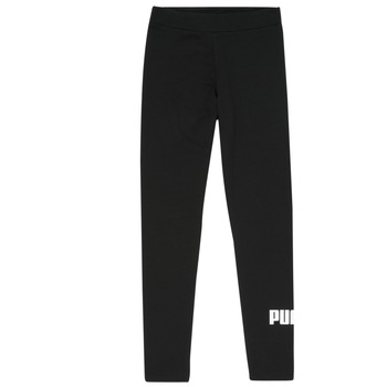 Clothing Girl Leggings Puma ESS LEGGING Black