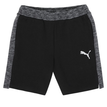 Clothing Boy Shorts / Bermudas Puma EVOSTRIPE SHORTS Black