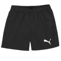 Clothing Boy Shorts / Bermudas Puma ESSENTIAL WOVEN SHORT Black