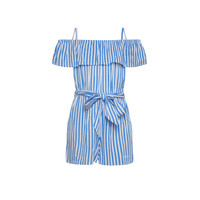 Clothing Girl Jumpsuits / Dungarees Pepe jeans LILI Blue
