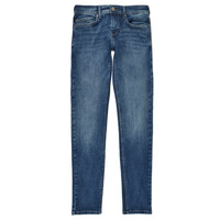 Clothing Boy Skinny jeans Pepe jeans FINLY Blue