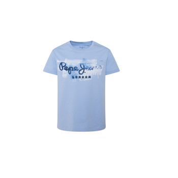 Clothing Boy Short-sleeved t-shirts Pepe jeans GOLDERS Blue