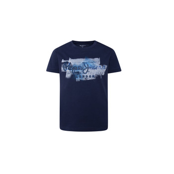 Clothing Boy Short-sleeved t-shirts Pepe jeans GOLDERS Marine