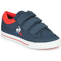 Shoes Children Low top trainers Le Coq Sportif VERDON SPORT PS Blue / Red