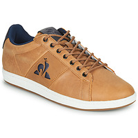 Shoes Men Low top trainers Le Coq Sportif MASTER COURT WAXY Brown
