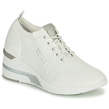 Shoes Women Hi top trainers Mustang THALIA White